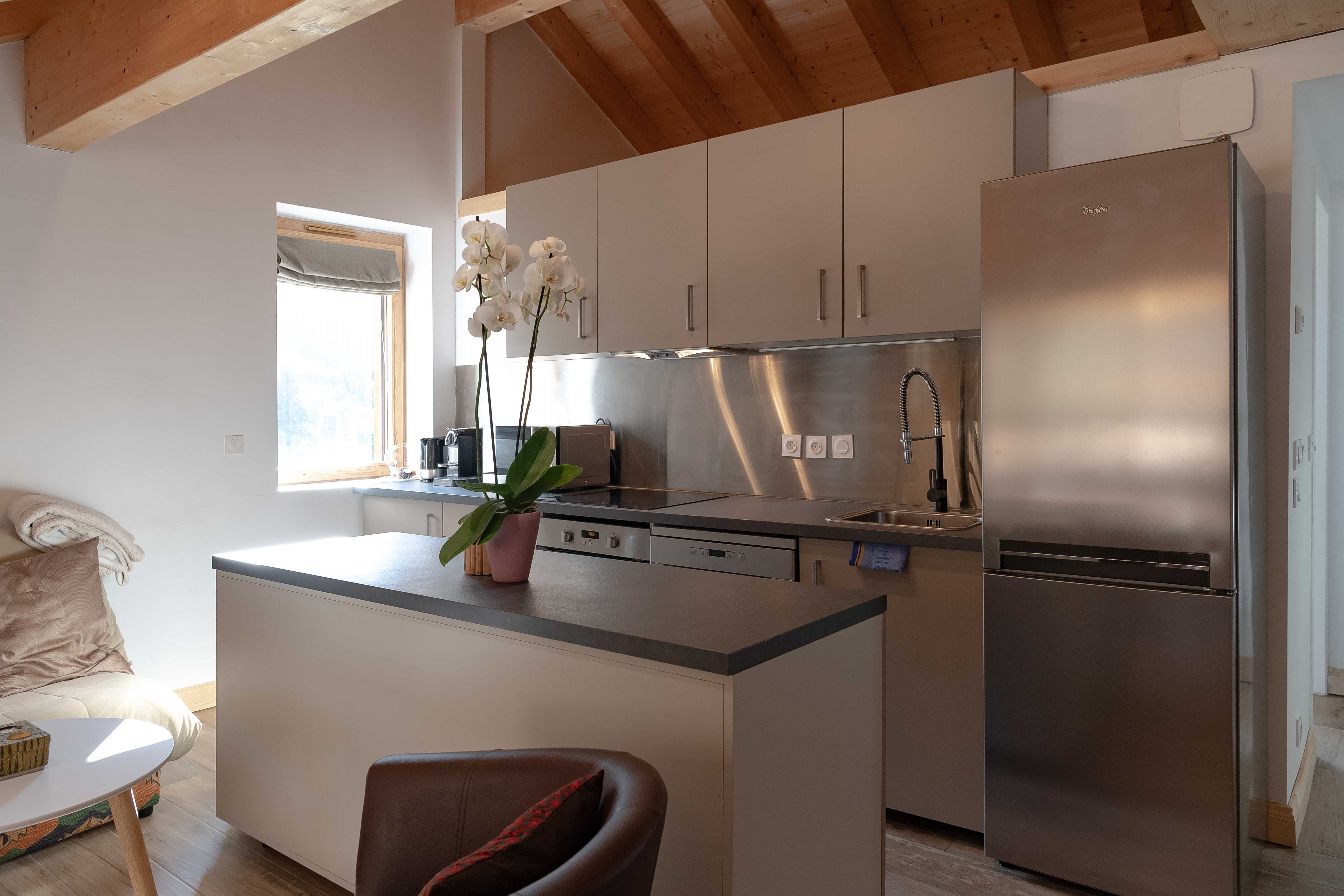 cuisine équipée appartement sylvain